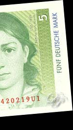 Billet représentant Bettina von Arnim, née Brentano...