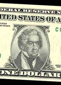 Un charmant faux billet de 1 dollar...