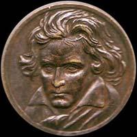 Médaille de Ludwig van Beethoven...