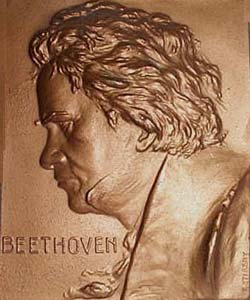 Plaque - Beethoven