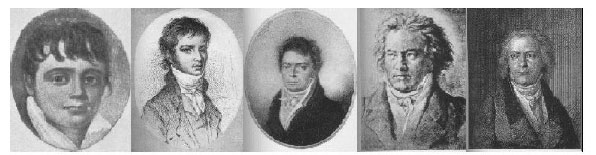 Portraits of Beethoven