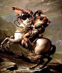 Jacques-Louis David: Napoléon au Saint Bernard (1800)