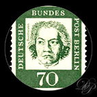 Beethoven - Timbre - Allemagne, Berlin 1961...