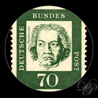 Beethoven - Timbre - Allemagne 1962...