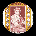 Beethoven - Timbre - Autriche - 1995...