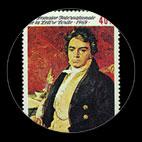Beethoven - Timbre - Burundi - 1969