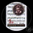 Beethoven - Timbre - Corée du Nord - 1994