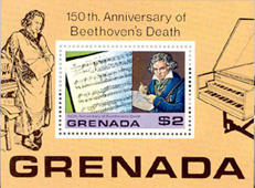 Beethoven - Timbre - Grenade 1978