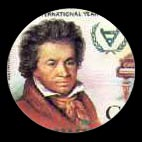 Beethoven - Timbre - Guyane - 1981