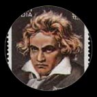 Beethoven - Timbre - Inde - 1970