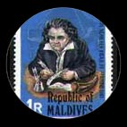 Beethoven - Timbre - Maldives - 1981
