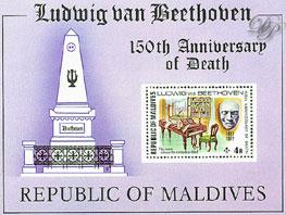 Beethoven - Timbres - Maldives 1977
