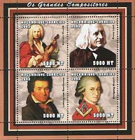 Timbres Beethoven - Mozambique