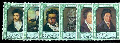 Beethoven - Timbre - Ras Al Khaima - 1972