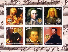 Beethoven - Stamp