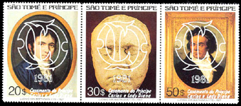 Beethoven - Timbre - Sao Tome e Principe