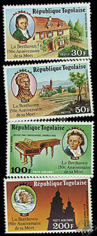 Beethoven - Timbre - Togo