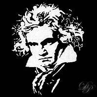 Portrait de Beethoven...