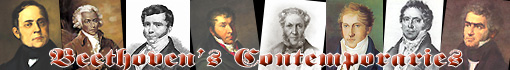 Ludwig van Beethoven's contemporaries