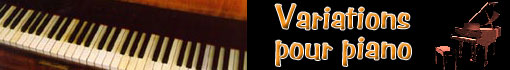 Ludwig van Beethoven : variations pour piano...