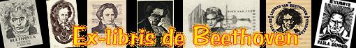 Ex-libris de Beethoven...